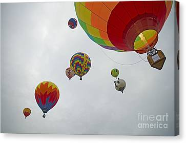 Color My Morning Canvas Print by Nick  Boren