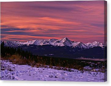 Color Of Dawn Canvas Print