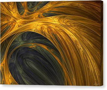 Color Of Elegance Canvas Print by Lourry Legarde