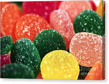 Color Of Flavor Canvas Print by John Rizzuto