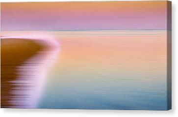 Cape Cod Bay Canvas Print - Color Of Morning by Bill Wakeley