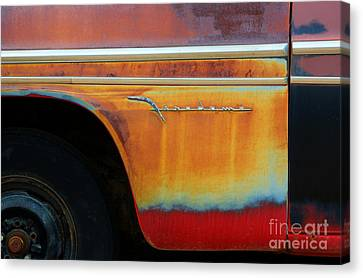 Color Of Rust Canvas Print by Bob Christopher