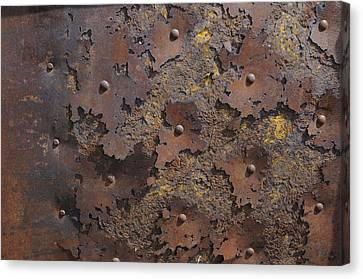 Color Of Steel 2 Canvas Print by Fran Riley