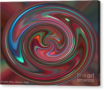 Mary King Canvas Print - Color Painting by Mary  King