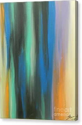 Color Study Canvas Print by Juan Molina