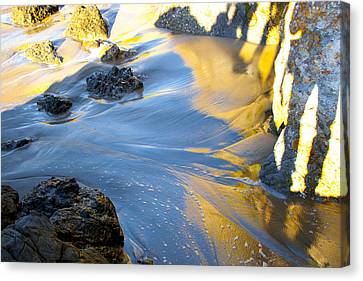 Canvas Print featuring the photograph Color Surf by Jim Snyder