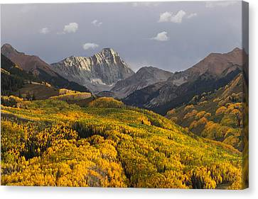 Colorado 14er Capitol Peak Canvas Print