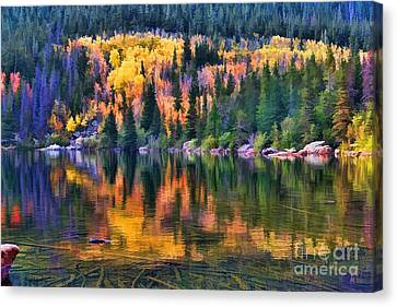 Colorado Autumn Canvas Print by Jon Burch Photography
