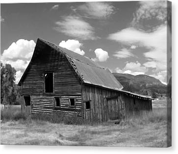 Colorado Barn Canvas Print by John Bushnell