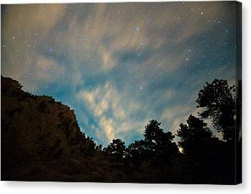Colorado Canyon Star Gazing  Canvas Print