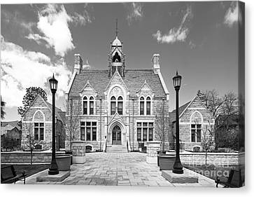 Colorado College Cutler Hall Canvas Print by University Icons