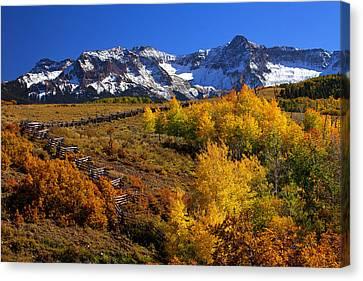 Darren Canvas Print - Colorado Country by Darren  White
