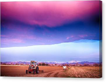 Colorado Country Intense Morning View Canvas Print by James BO  Insogna
