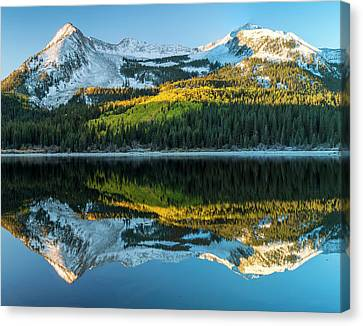 Colorado, East Beckwith Mountain Canvas Print by Jaynes Gallery