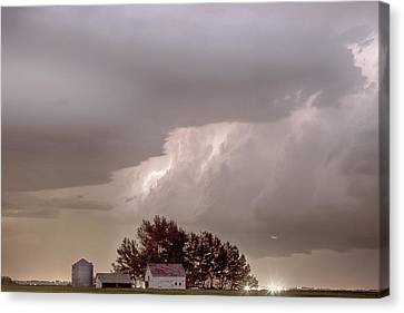 Colorado Farm Country Storm Canvas Print