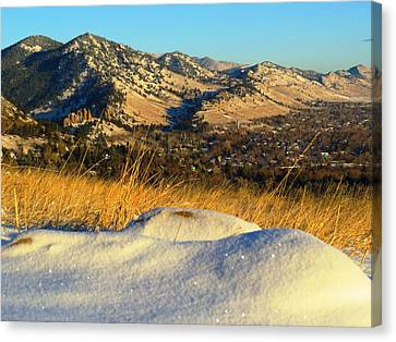 Colorado Front Range Sunrise Canvas Print