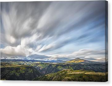 Colorado Garden Canvas Print