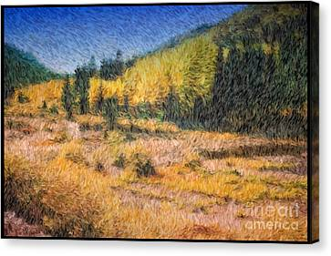 Colorado Golden Autumn Canvas Print