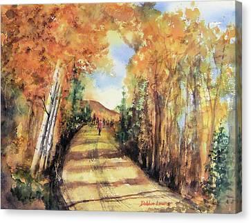 Colorado In September Canvas Print by Debbie Lewis