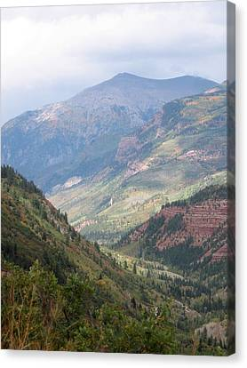 Canvas Print featuring the photograph Colorado by Kristine Bogdanovich