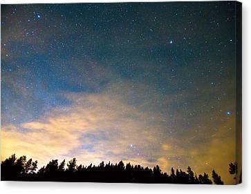 Colorado Night Sky Canvas Print by James BO  Insogna