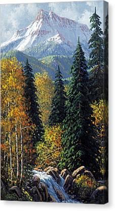 Colorado Canvas Print by Randy Follis
