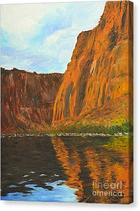 Colorado River Canvas Print by Kate Sumners
