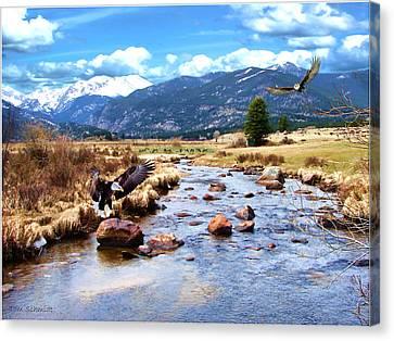 Tom Schmidt Canvas Print - Colorado Rockies by Tom Schmidt