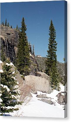 Colorado - Rocky Mountain National Park 01 Canvas Print by Pamela Critchlow