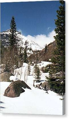 Colorado - Rocky Mountain National Park 02 Canvas Print by Pamela Critchlow