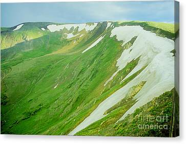 Canvas Print featuring the photograph Colorado Snow Vista by Teri Atkins Brown