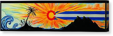 Colorado Wherever You Are Its Always Home Canvas Print by Randy Segura