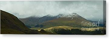 Colorado's Front Range Panorama Canvas Print by Benjamin Reed