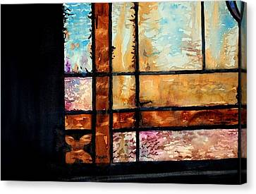 Colored Impressions Canvas Print by Spencer Meagher