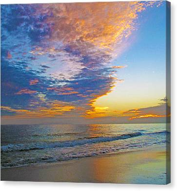 Colored Ocean Canvas Print