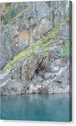 Colored Rocks Canvas Print by Susan Woodward