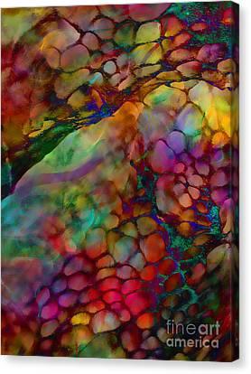 Colored Tafoni Canvas Print by Klara Acel