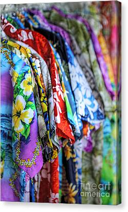 Colorful Aloha Canvas Print