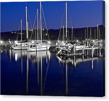 Colorful Black And White Canvas Print