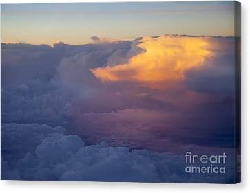 Colorful Cloud Canvas Print by Brian Jannsen