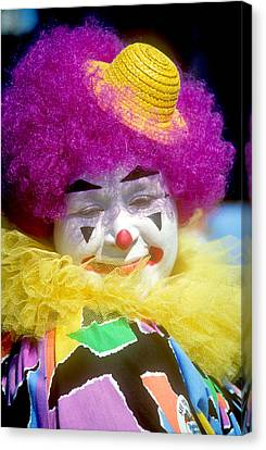 Milwaukee Parade Canvas Print - Colorful Clown by Kenneth Pagel