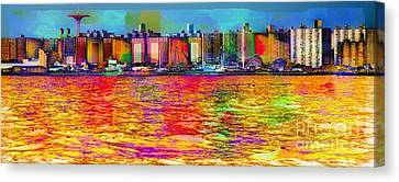 Colorful Coney Island Canvas Print