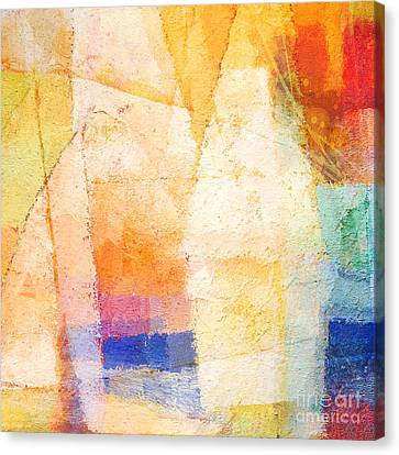 Colorful Day Canvas Print by Lutz Baar