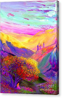 Contemplation Canvas Print - Colorful Enchantment by Jane Small