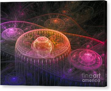 Colorful Fantasy Landscape Canvas Print