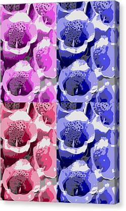 Colorful Flowers  Bells Canvas Print