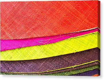 Colorful Hats Canvas Print