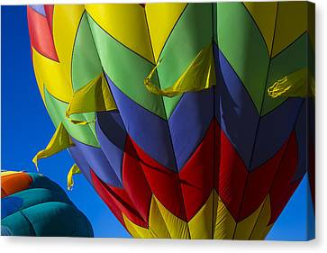 Colorful Hot Air Balloon Canvas Print by Garry Gay