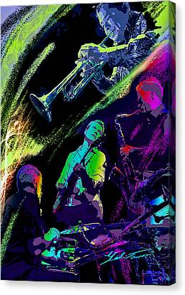 Colorful Jazz Canvas Print