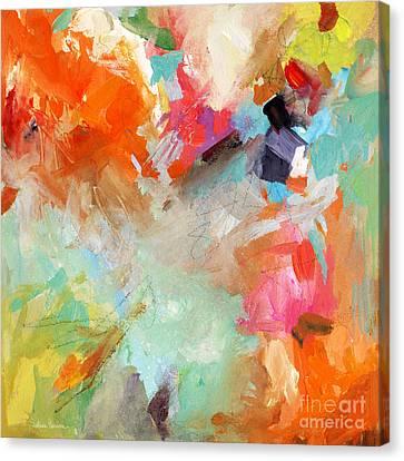 Colorful Joy Canvas Print by Svetlana Novikova